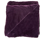 Berkshire Cozy 55x70 Primalush/Plush Fur Polyester Filled Throw - H212264