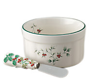 Pfaltzgraff Winterberry Dip Mix Set, Ramekin &Spreader - H284864