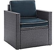 Crosley Palm Harbor Gray Outdoor Armchair - H295364