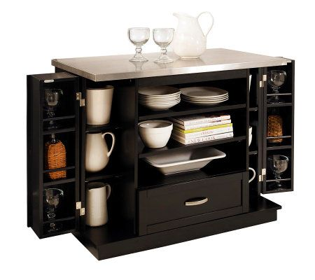 Home Styles Versatile Kitchen Island Qvc