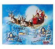 Illuminart 16 x 20 Christmas Host Choice Canvas Art - H201065