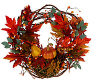 Autumns Bounty 20 Wreath by Valerie - H204965