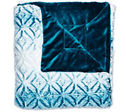 Berkshire Blanket 50x70 Tipped Airblown Ombre Throw - H209065
