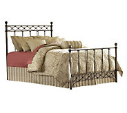 Fashion Bed Group Argyle Copper Chrome Queen Bed - H281065