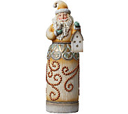 Jim Shore Rivers End Santa with Birdhouse Statue - H287765