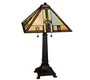Meyda Tiffany-Style Prairie Wheat Harvest TableLamp - H288165