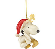 Lenox Snoopys List for Santa Ornament - H292765