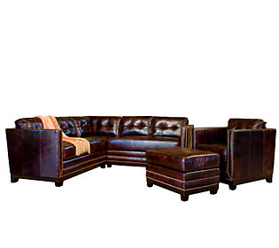 Finer by Design Newcastle Three Piece Italian Leather Furniture