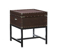 Home Reflections Montclair Espresso Storage EndTable - H185466