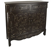 Scroll Cupboard w/ Two Drawers and Two Doors by Valerie - H203766