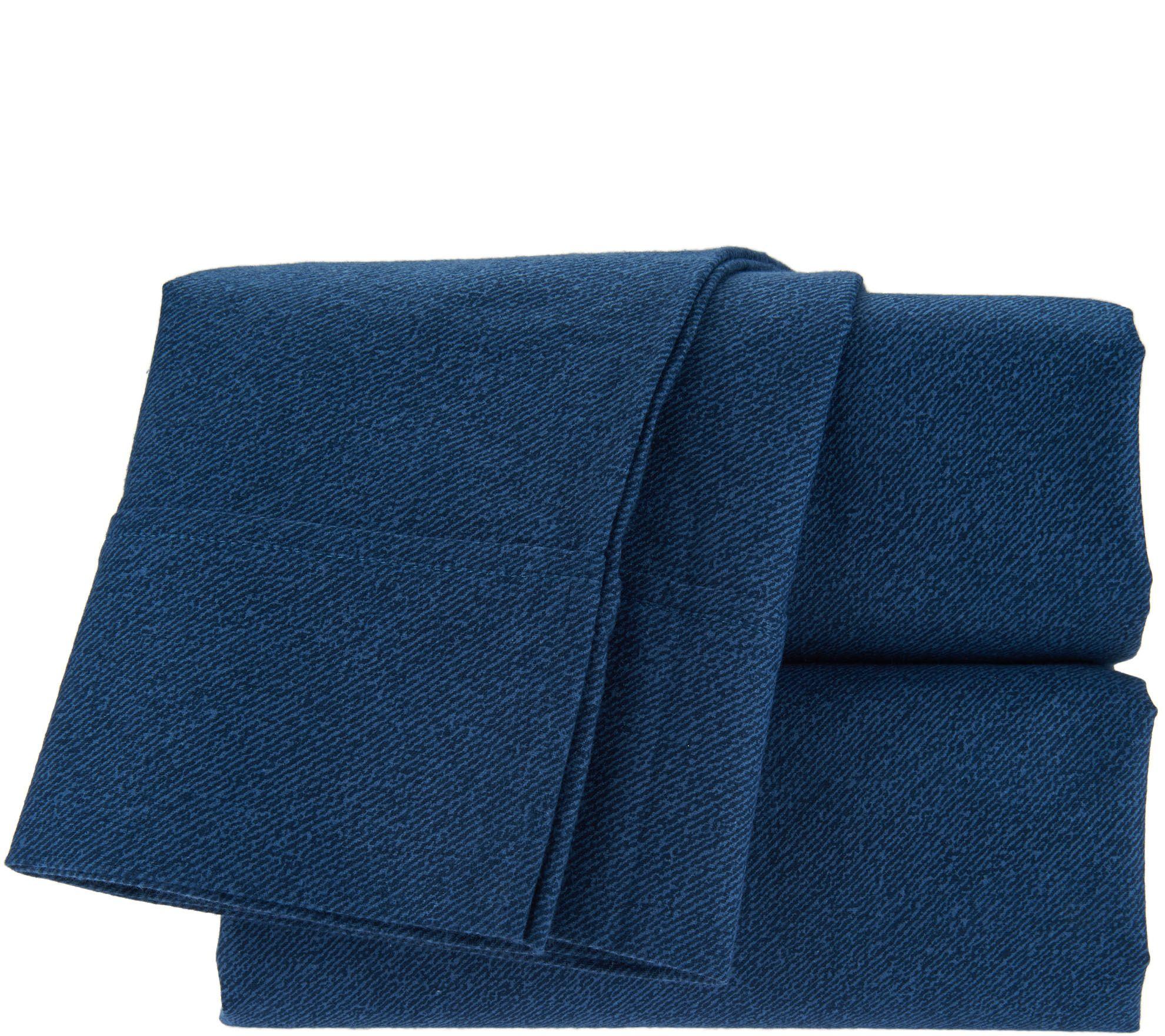 northern nights 175gsm 100 flannel full sheet set w bed. Black Bedroom Furniture Sets. Home Design Ideas