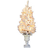 As Is Bethlehem Lights Hudson Prelit 4 Urn Tree - H210766