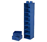 Honey-Can-Do Combo Drawer & Shelf Hanging Organizer - Blue - H356966