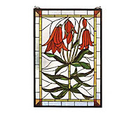 Tiffany Style Trumpet Lily Window Panel - H123467