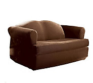 Sure Fit Stretch Pique Separate T-Cushion LoveSeat Slipcover - H145367