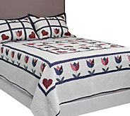 Home Sweet Home King Quilt Set with Shams - H204767