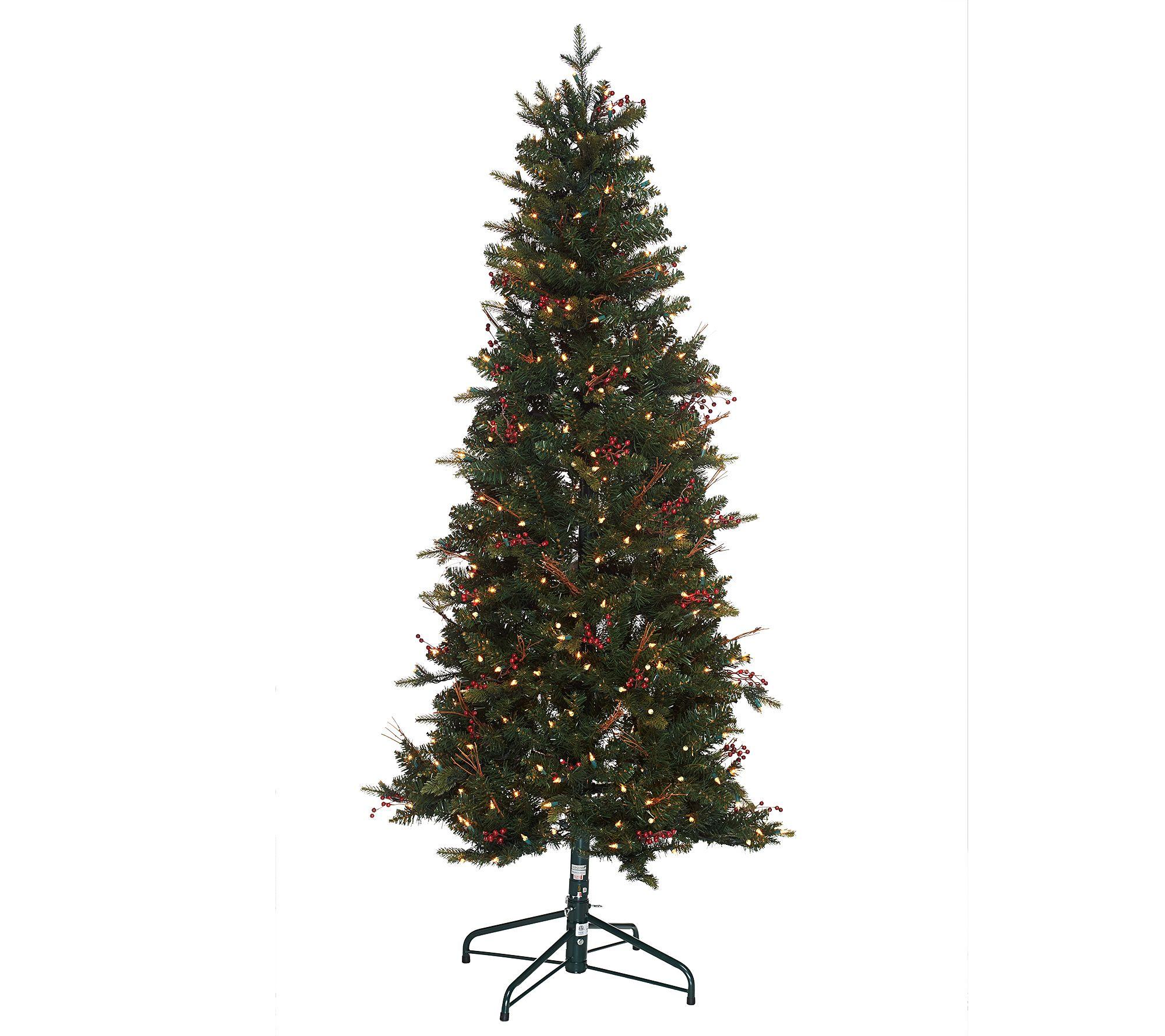 """""""As Is"""" Bethlehem Lights 7.5' Lakewood Fir Christmas Tree"""