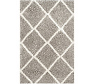 Safavieh 4x6 Lattice Hudson Shag Area Rug - H209867