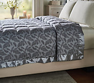 Northern Nights 550FP Cotton Fern Printed King Down Blanket - H212867
