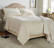 Casa Zeta Jones Burnout Velvet King Coverlet - H213167