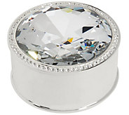 Deluxe Gem Box with Crystal Border by Lori Greiner - H213567