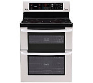 LG 30 Freestanding Electric Double Range Stainless Steel - H280767