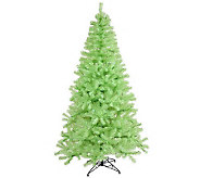 6 Colored PVC Pine Tree with Mini Lights by Vickerman - H281967