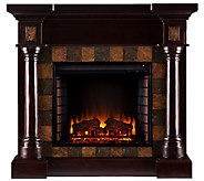 Wellington Electric Fireplace, Espresso Finish - H282467