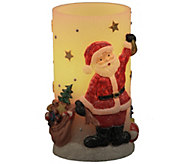 Home Reflections Handpainted Holiday Flameles sCandle - H286467