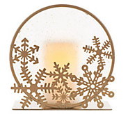 Candle Impressions Frosted Glass Silhouette Holder - H287067