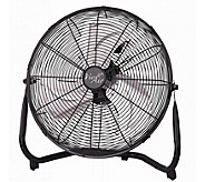 Vie Air 14 Industrial High-Velocity Metal Floor Fan - H293567