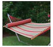 Pawleys Island Large Quilted Fabric Hammock - Trellis Stripe - H131768