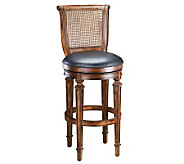 Hillsdale House Dalton Cane Back Swivel CounterStool - H142068