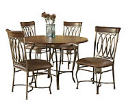 Hillsdale House Montello 5-Piece Round Dining Set - H161368