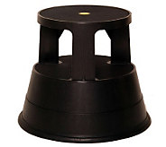 Kick Stool Multipurpose Portable Rolling StableStep Stool - H183968