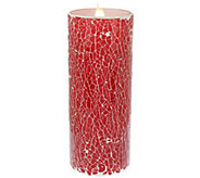 Solare Mosaic 8 Flameless Candle with Multi-Hue Flame Technology - H203968
