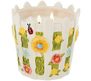 Temp-tations 23 oz. Gingham Gardens Picket Fence Candle - H205168