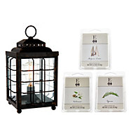 ED On Air Rustic Lantern Fragrance Wax Warmer by Ellen DeGeneres - H206168