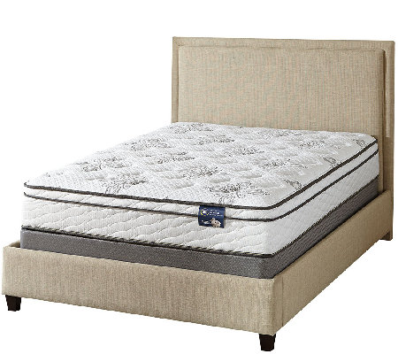"Serta Salvation 11"" Euro Top Queen Mattress Set H"