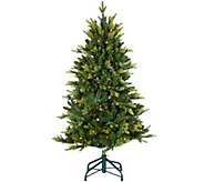 Bethlehem Lights 5 Prelit Noble Spruce Tree w/ Multi-Functions - H209268