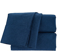 Northern Nights 175gsm 100Flannel King Sheet Set w/ Bed Tite - H209668