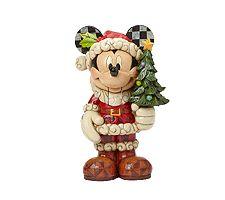 Jim Shore Disney Traditions Large Nutcracker Mickey Figurine