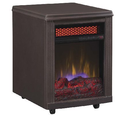 Duraflame Stanton Portable Infrared Quartz Fireplace Heater H286268