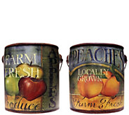A Cheerful Giver Set of 2 Everyday Farm Fresh 20-oz Candles - H289668