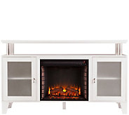Thomas Media Electric Fireplace in White - H291068