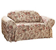 Sure Fit Chloe One Piece Sofa Slipcover - H349968