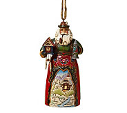 Jim Shore Heartwood Creek German Santa HangingOrnament - H353468