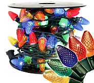 100 Light Faceted C7 LED Set - Multicolored - H363068