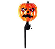 Battery Operated Pumpkin Rotating Head Path Marker - H363168