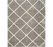 Safavieh 8x10 Lattice Hudson Shag Area Rug - H209869